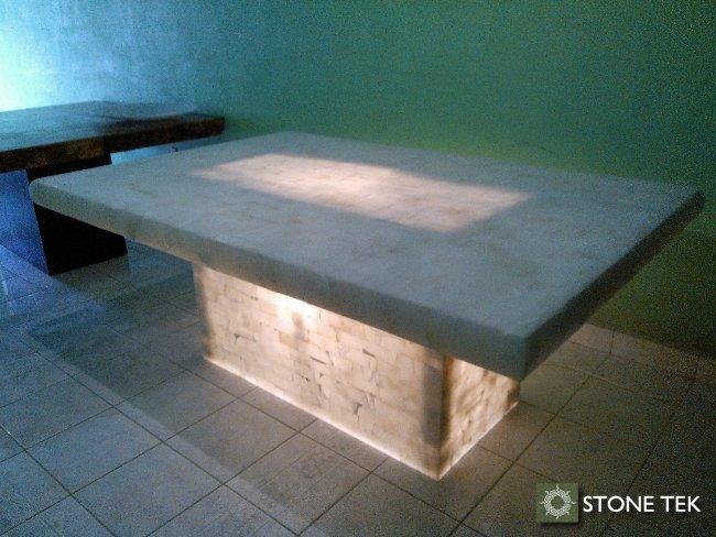 Mesas stone tek - Mesas de piedra para exterior ...